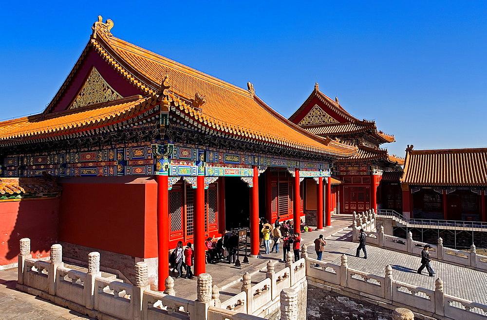 Baohe Hall, in Forbidden City, Beijing, China
