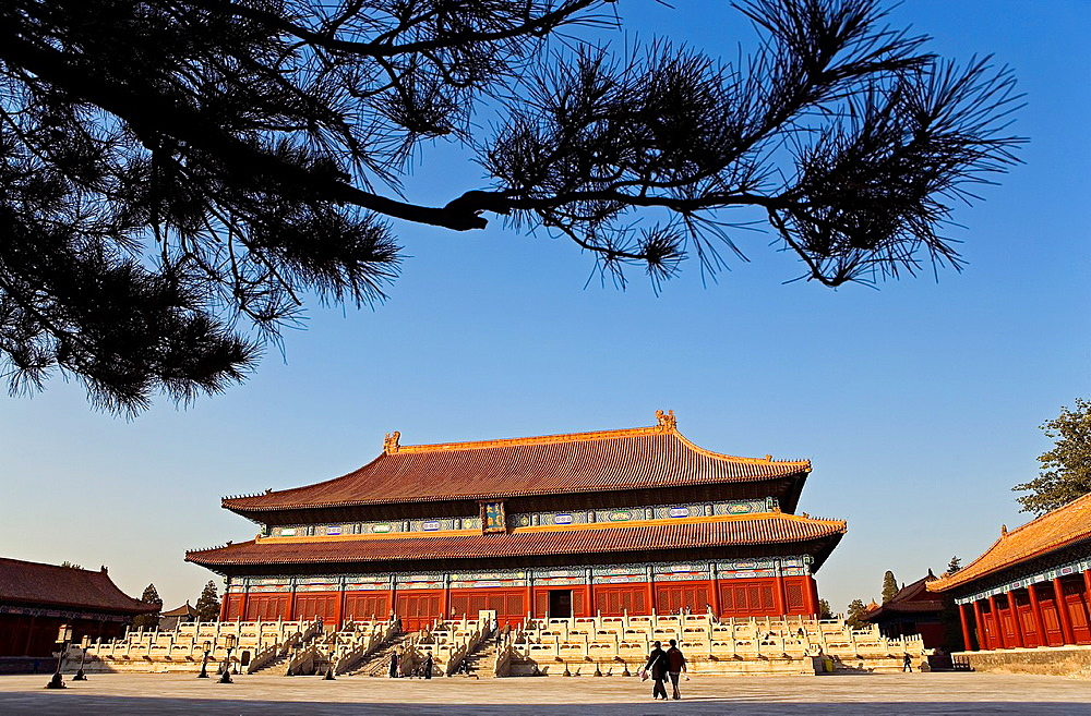 Cultural Palace of Workers, in forbidden city, Beijing, China