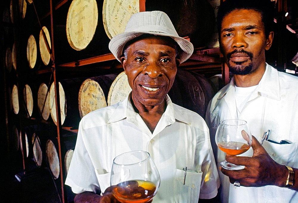 Mount Gay rum destillery, Barbados, West Indies, Caribbean