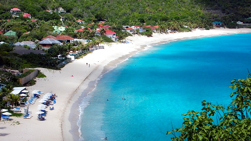 Beach at Flamands St Barts