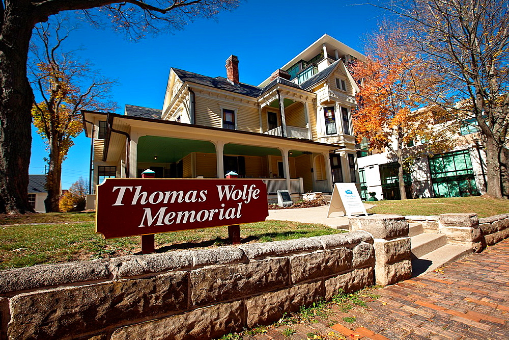 Writer Thomas Wolfe Memorial and home in Asheville, NC