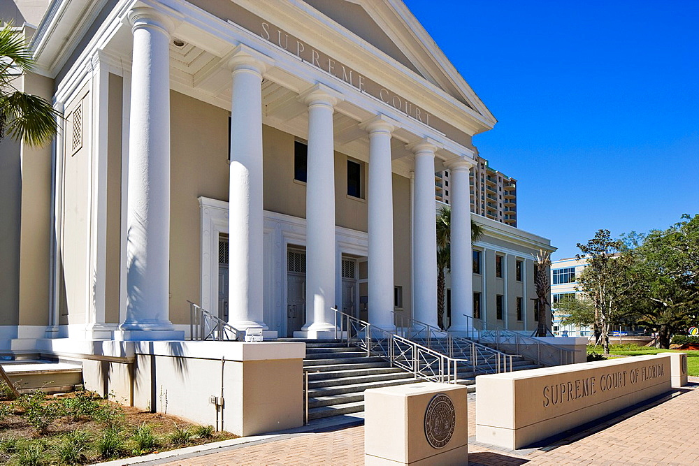 The State Supreme Court of Florida building, Tallahassee, Florida, USA
