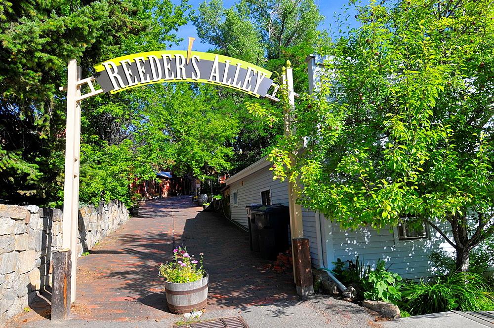 Reeder´s Alley Helena Montana MT US
