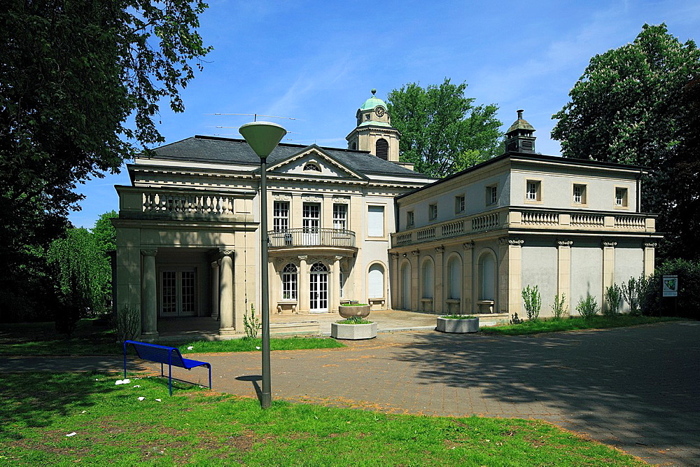 D-Dortmund, Ruhr area, Westphalia, North Rhine-Westphalia, NRW, D-Dortmund-Dorstfeld, house Schulte-Witten, manor house, library