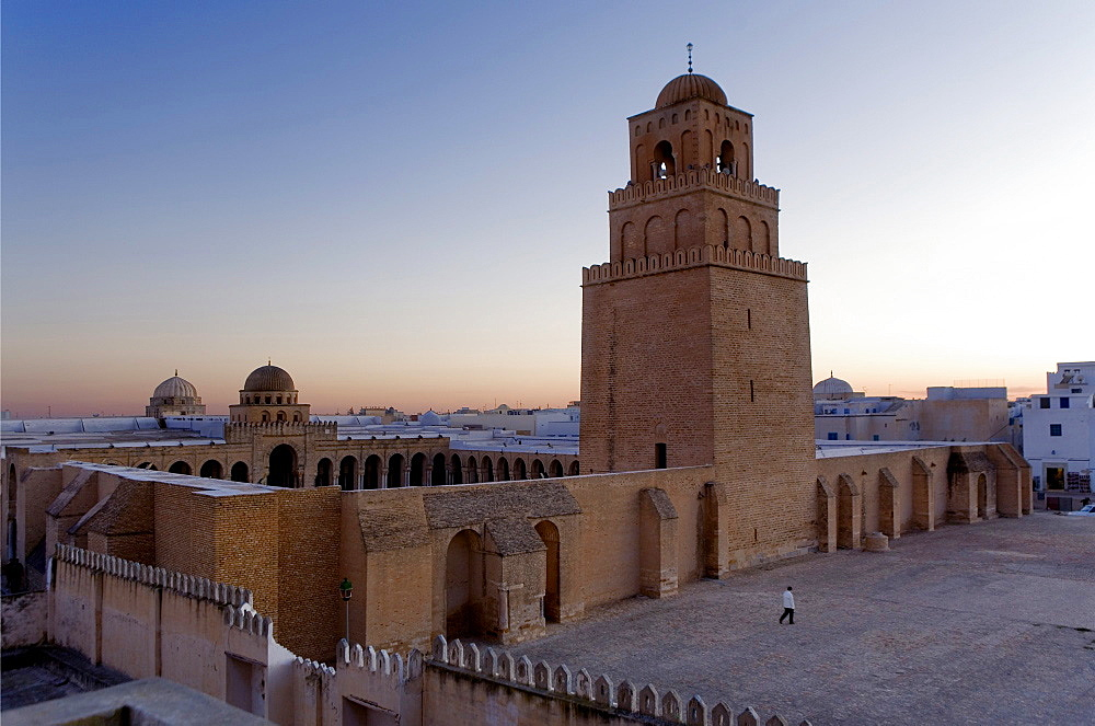 Tunez Kairouan The Great Mosque Mosquee founded by Sidi Uqba in the VIth century is the most ancient place of prayer in North Africa