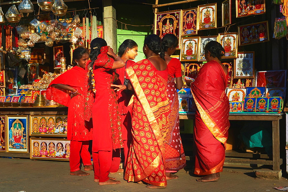 India, Tamil Nadu, Kanchipuram, Kamakshi Amman