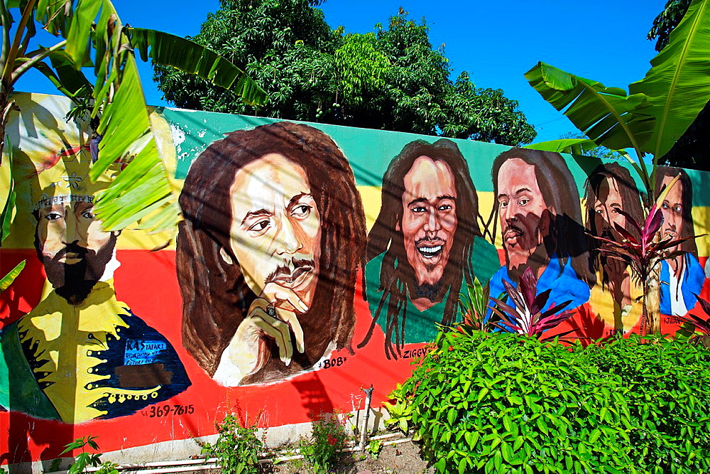 Bob Marley Museum, Kingston, Jamaica, West Indies, Caribbean, Central America. - 817-401941