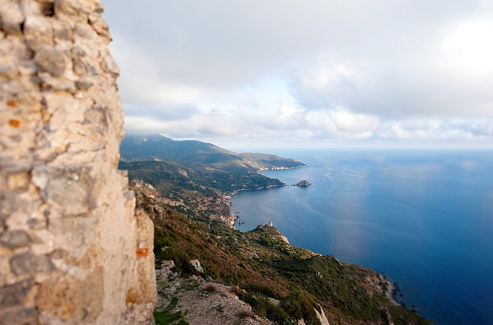 Southern Coast of Monte Argentario, Grosseto, Tuscany, Italy