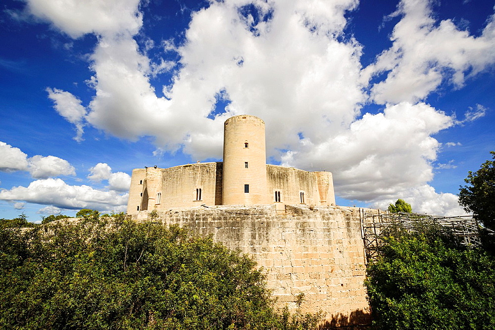 Bellver Castle,, XIV century -, Palma de Mallorca, Mallorca Balearic Islands Spain