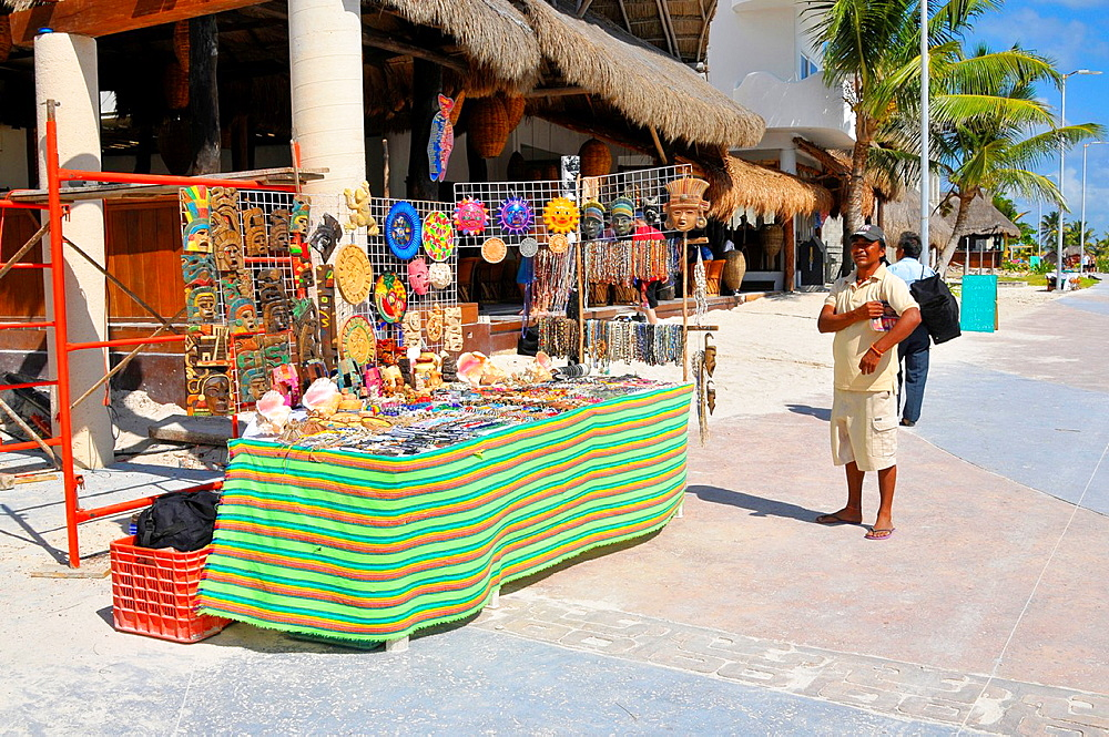 Souvenirs Costa Maya Mexico Beach Caribbean Cruise Ship Port