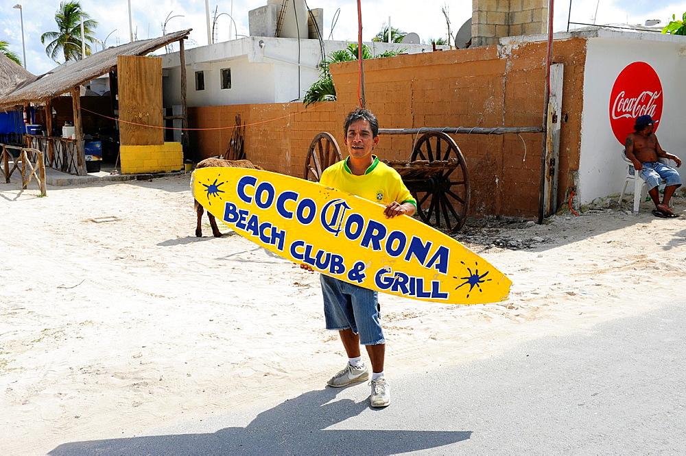 Bar and Grill Costa Maya Mexico Beach Caribbean Cruise Ship Port
