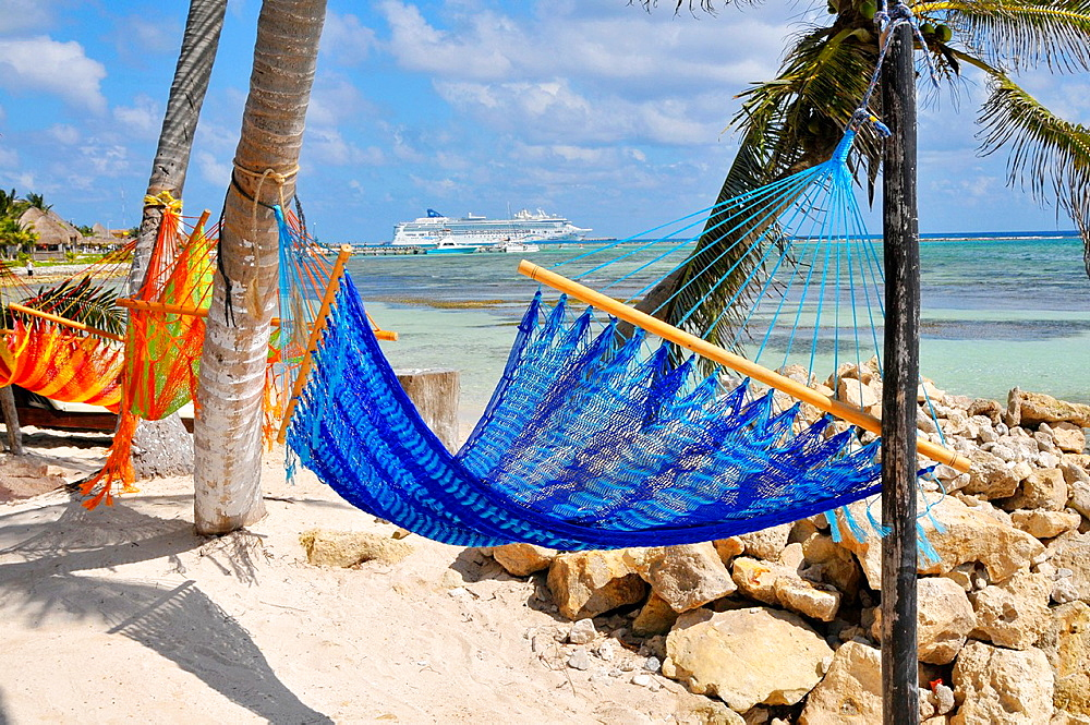 Hammock Costa Maya Mexico Beach Caribbean Cruise Ship Port