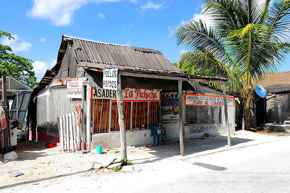 Grill Costa Maya Mexico Beach Caribbean Cruise Ship Port
