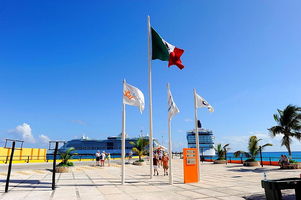 Costa Maya Mexico Beach Caribbean Cruise Ship Port