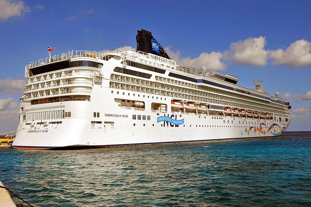 Cruise Ship Cozumel Mexico Caribbean Port