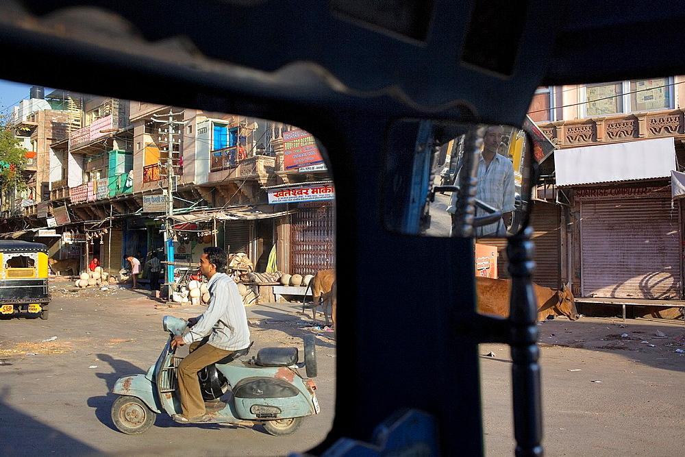 street scene near Sardar market,Jodhpur, Rajasthan, India
