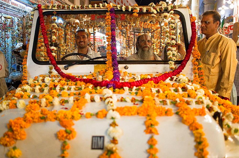 Gangaur festival,parade,pushkar, Rajasthan, india