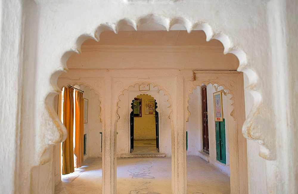 City Palace,Room in Mor Chowk,Udaipur, Rajasthan, india