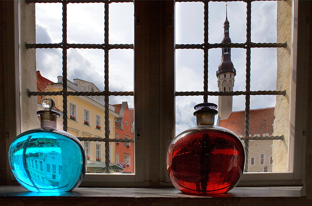 Town Hall Square from Town Hall Pharmacy,Tallinn,Estonia - 817-406222