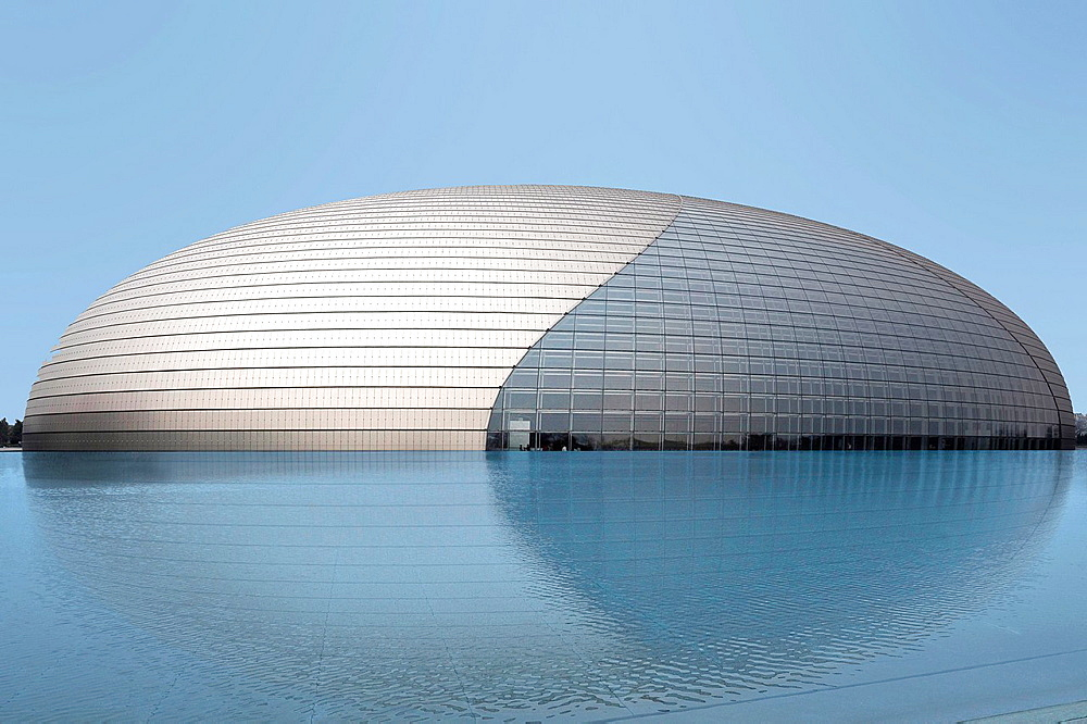 National Centre for the Performing Arts- National Grand Theatre in Beijing China