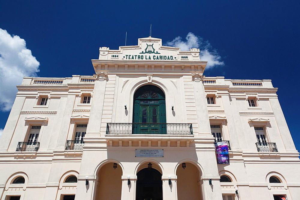 Cuba, Santa Clara Province, Santa Clara, Teatro La Caridad theater