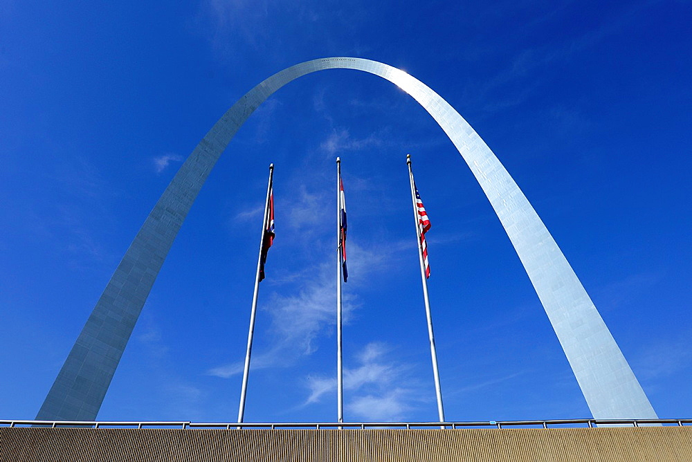 St  Louis Arch Gateway to West Missouri
