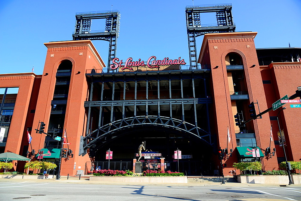 Busch Stadium St  Louis MO Missouri Cardinals Baseball