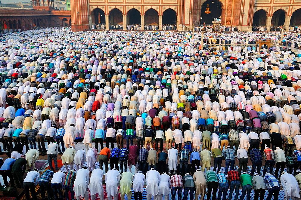 Eid Ul Adha festival at Jama Masjit in Old Delhi
