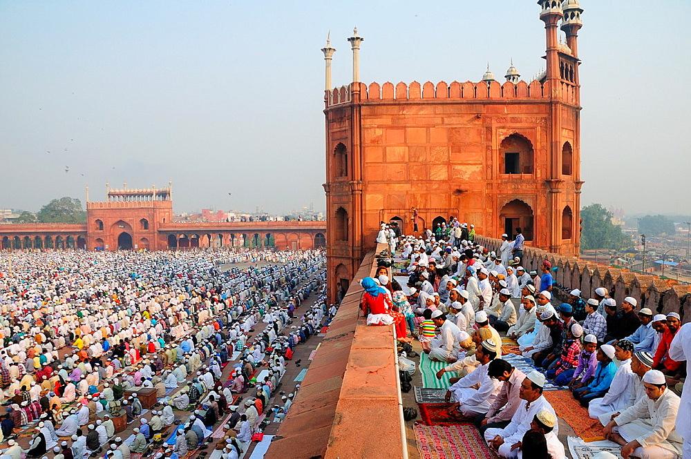 Eid Ul Adha festival at Jama Masjit in Old Delhi - 817-409827
