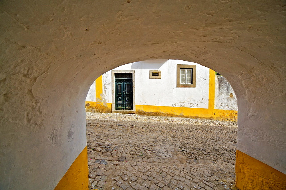 Tunnel Leading to the Medieval Village of Obidos