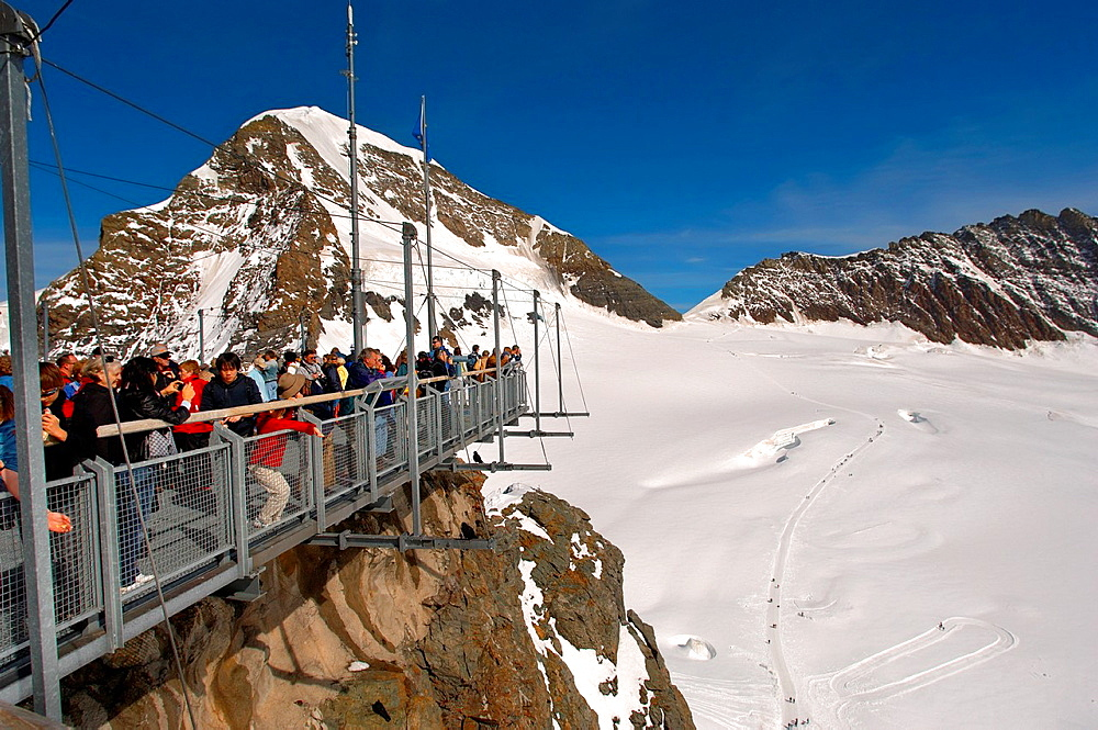 Sphinx observatory platform, Jungfrau Top of Europe  Switzerland