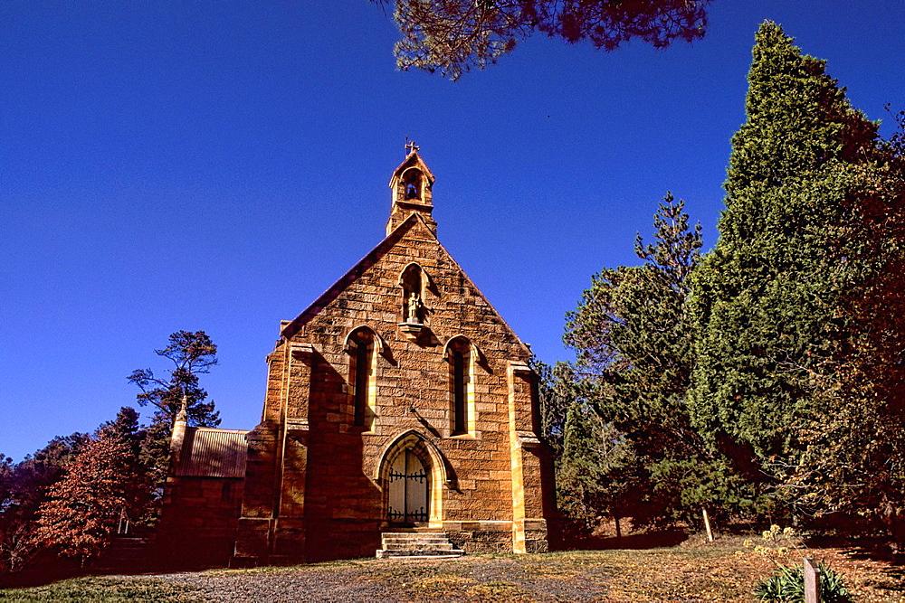 St  Francis Xavier Catholic Church Year 1851 in New South Wales Australia