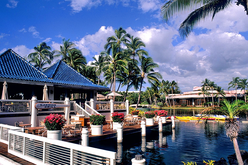 Beautiful Hiton Waikoloa on the Big Island of Hawaii USA