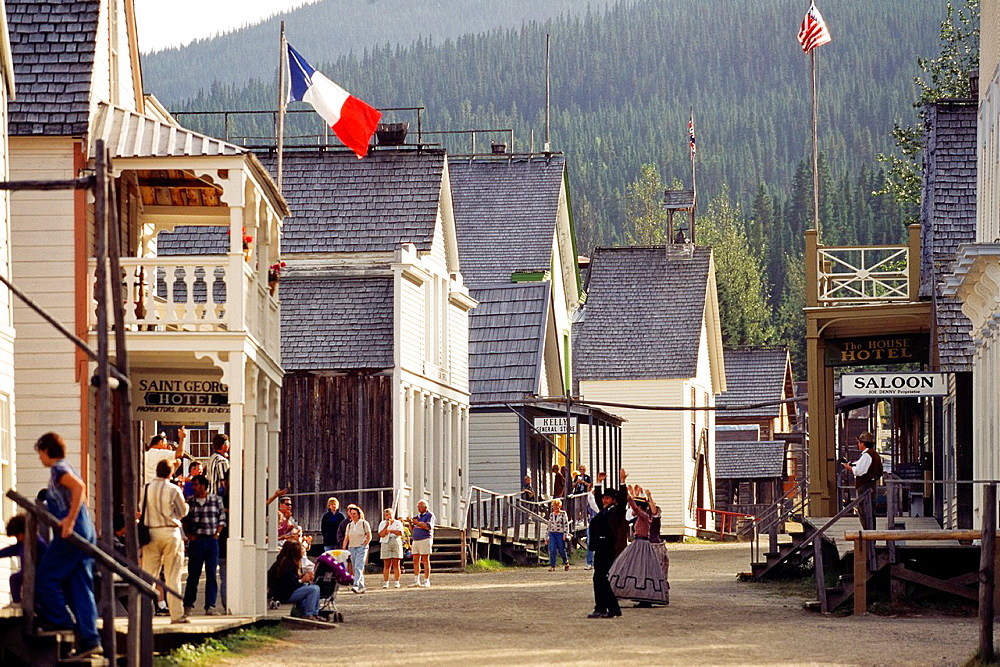 Barkerville Historic Town British Columbia Gold Rush Town Canada.