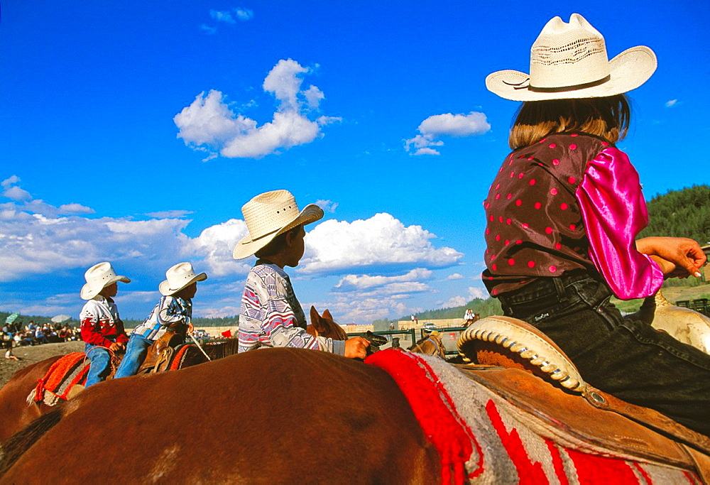 Rodeo In Redstone British Columbia Canada.