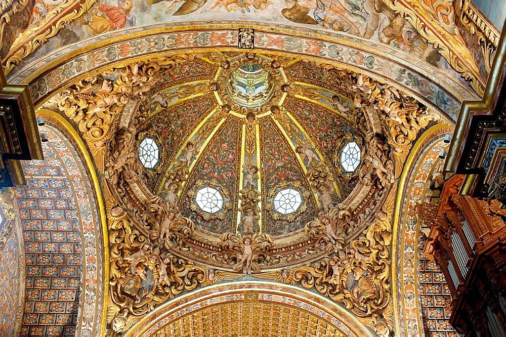 Dome of the Santo Domingo church, Orihuela Alicante province, Comunidad Valenciana, Spain