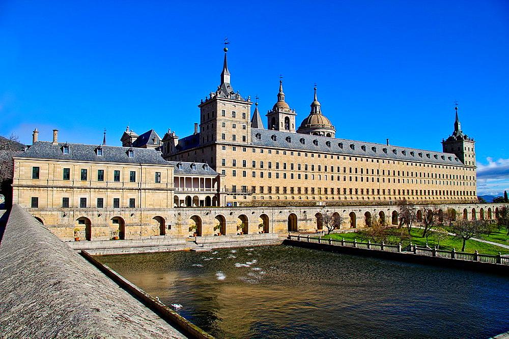 Royal Monastery of San Lorenzo del Escorial, Madrid, Spain
