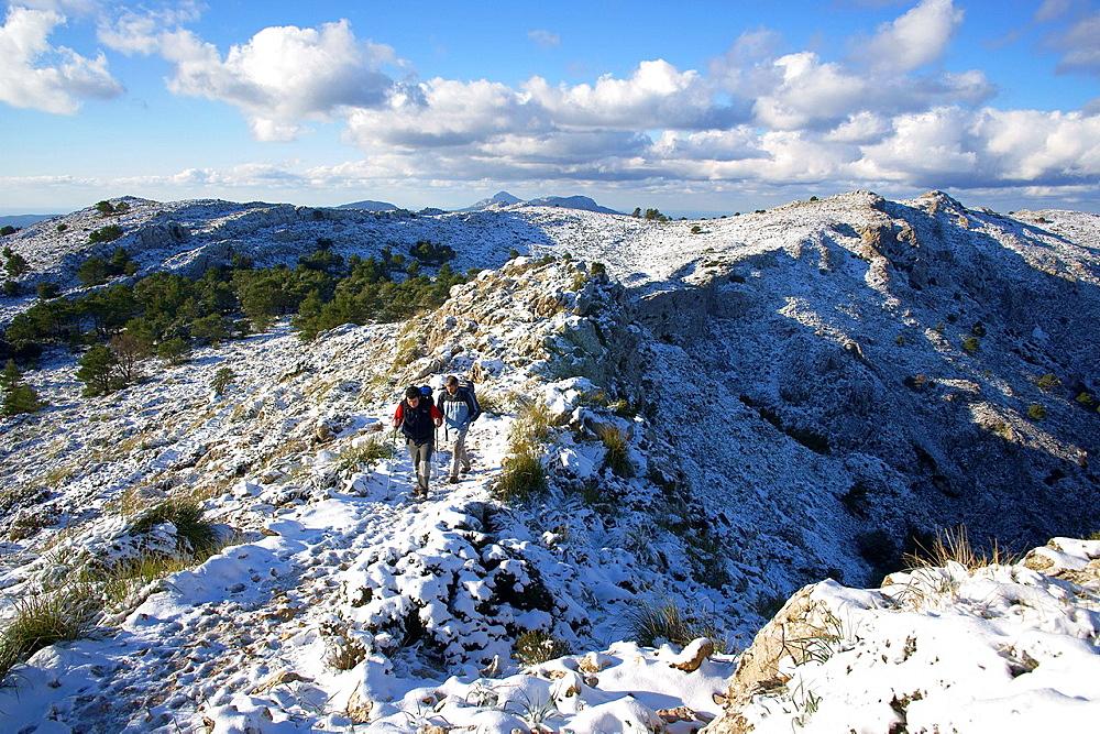 Cami SÂ¥Archiduc, Valldemossa, Long Distance Path GR 221, Sierra de Tramuntana Majorca Balearic Islands Spain