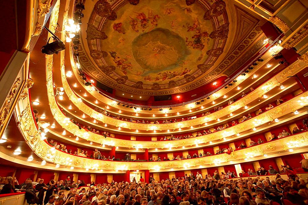 Principal Theater, Coral nineteenth century Palma Mallorca Balearic Winter Spain