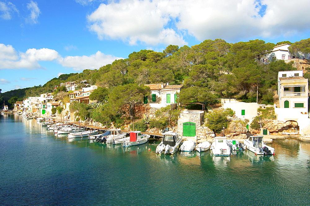 Cala Figuera, Santanyi, Migjorn, Mallorca, Balearic Islands, Spain