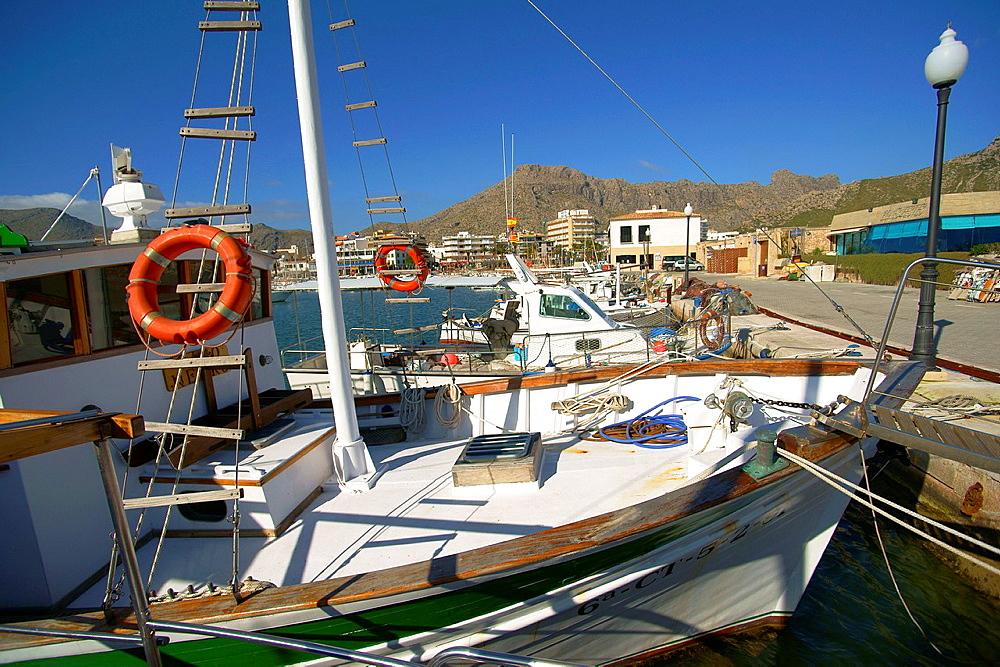 Port de Pollenca Nord Mallorca Baleares Espana