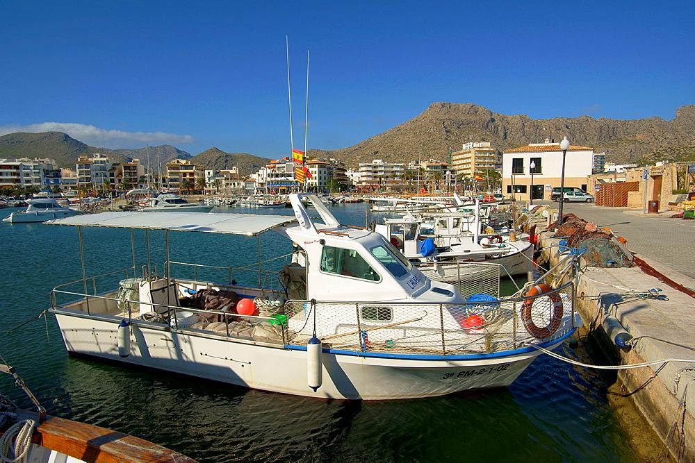 Port de Pollenca Mallorca Baleares Spain Nord