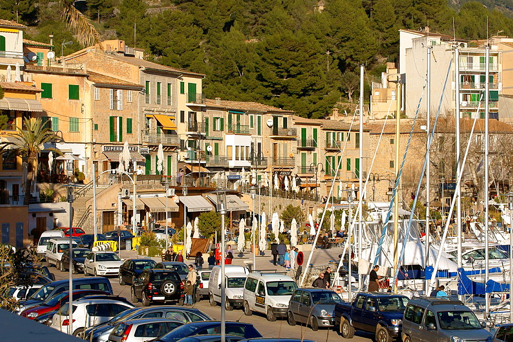 Port de Soller, Tramuntana, Mallorca, Balearic Islands, Spain