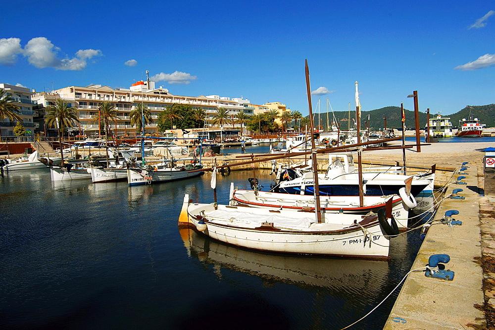 port of Cala Bona Mallorca Baleares Spain Llevant