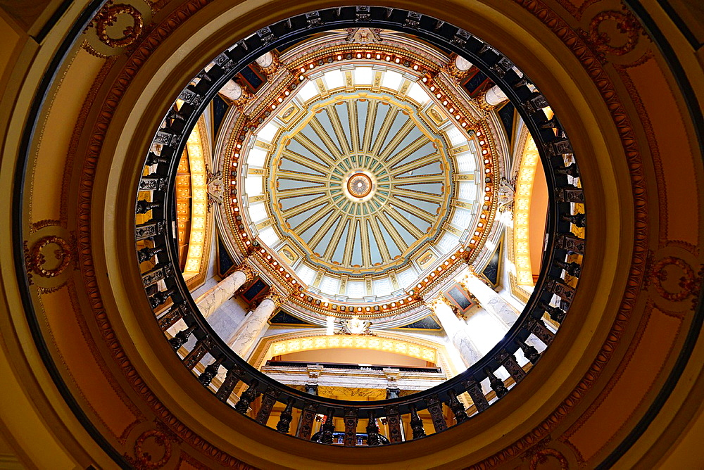 Interior Dome State Capitol Jackson, Mississippi, United States of America