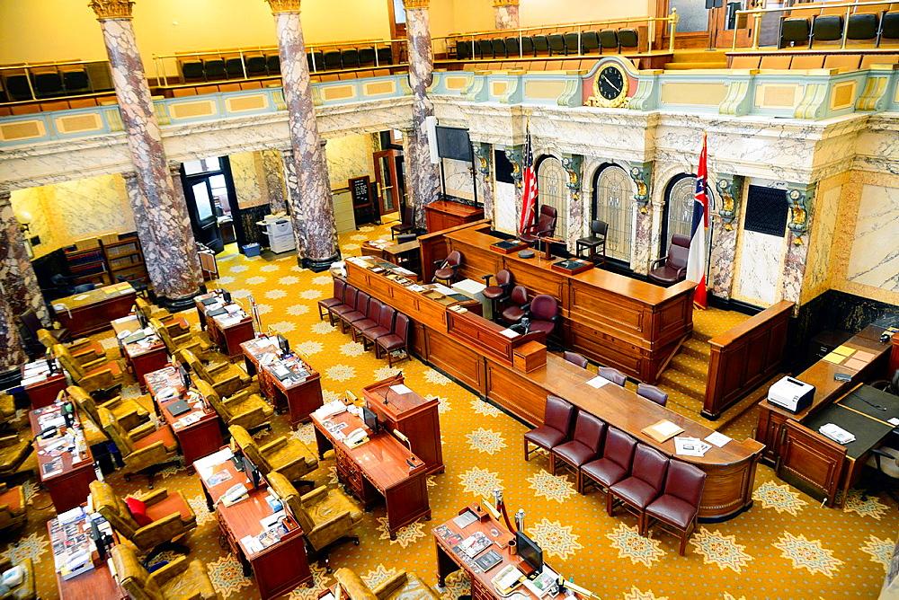 Senate Chamber State Capitol Jackson, Mississippi, United States of America