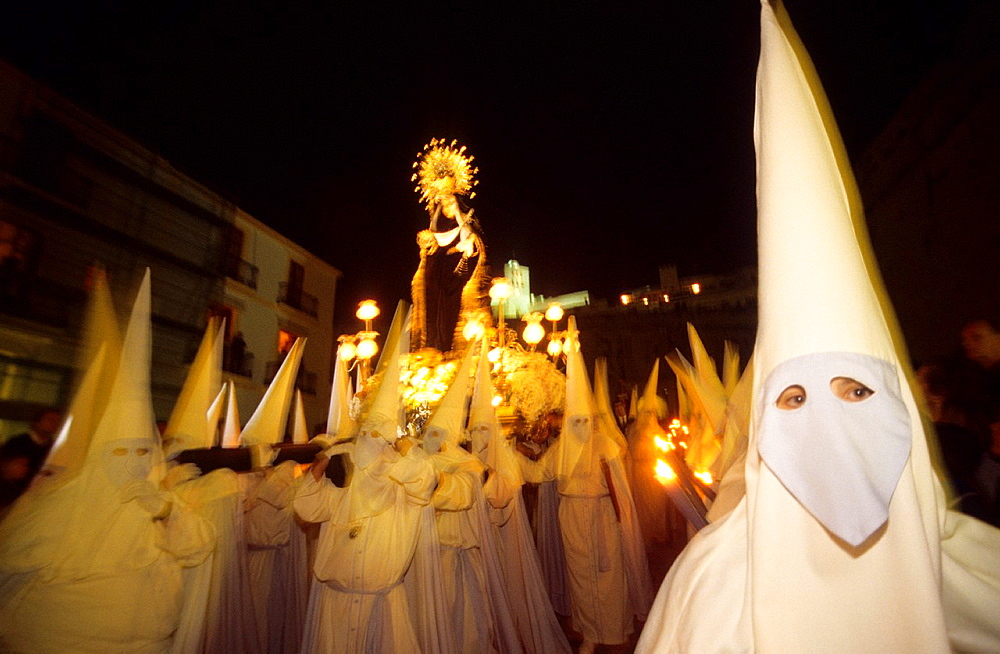 Procesion good Friday Ibiza, Balearic Islands Spain