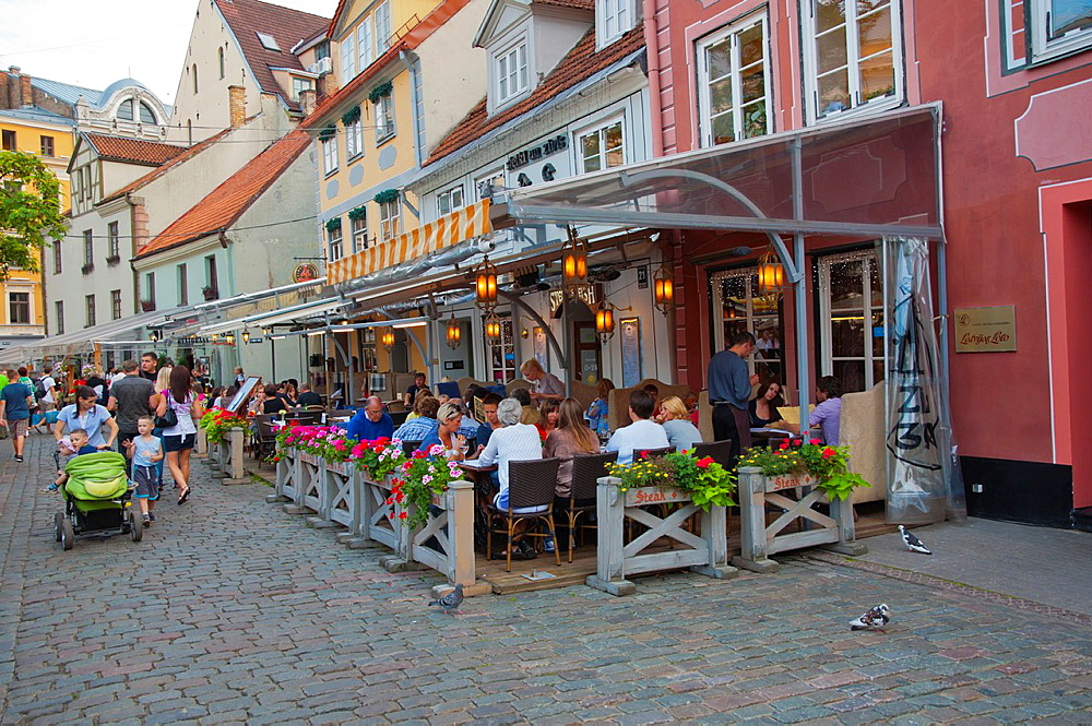 Vecriga the old town Riga Latvia Europe