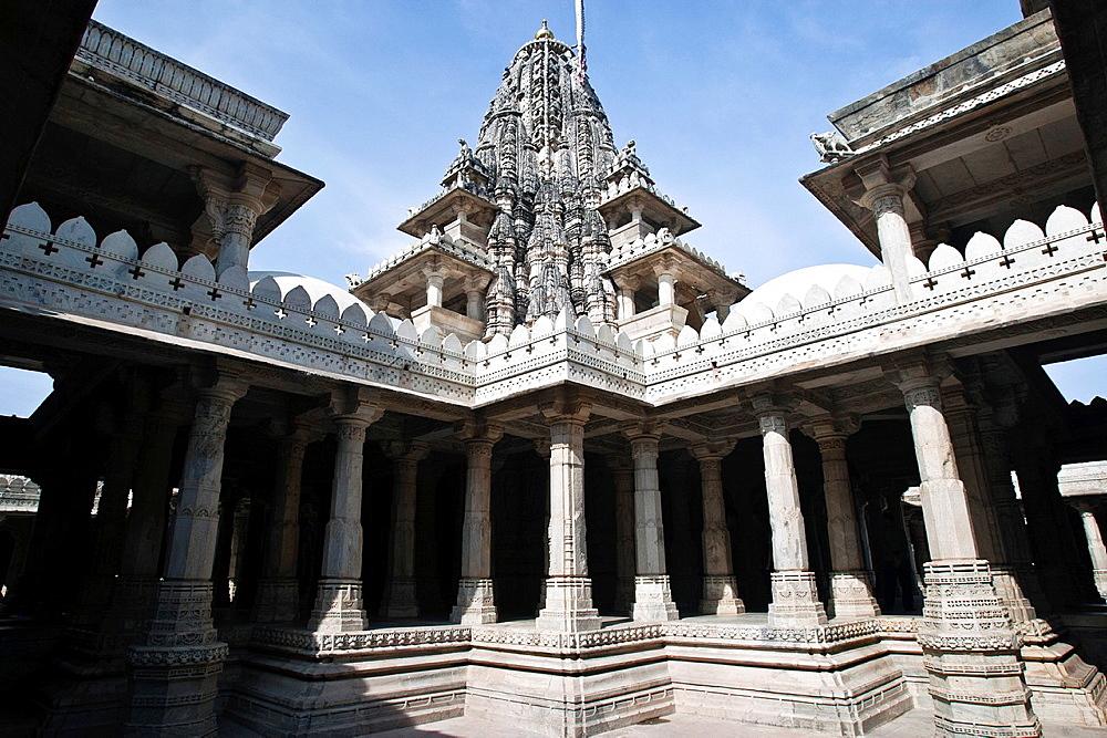 Jain Temple Ranakpur Rajasthan India