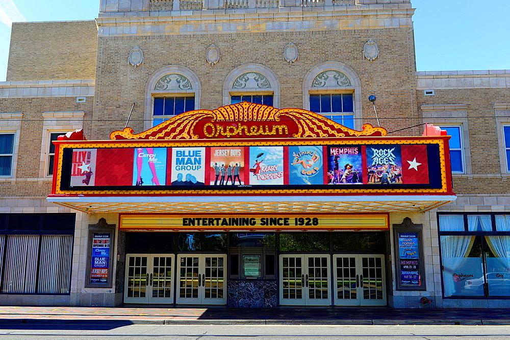 Orpheum Theater Memphis Tennessee TN